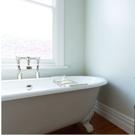 3526 Perrin & Rowe Bath Filler Tap With Extended Unions And Floor Legs Crosshead